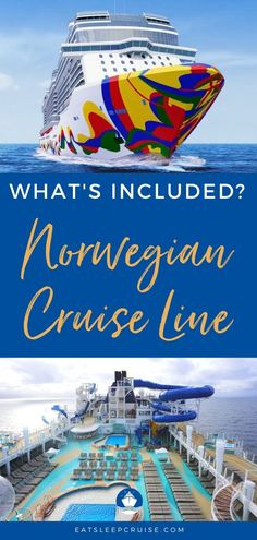 If you have an upcoming NCL cruise, we have put together this list of What's Included on Norwegian Cruise Line to help with your cruise planning and budget. Cruise Checklist, Packing List For Cruise, Cruise Travel, Cruise Vacation, Beach Vacations, Family Vacations, Cruise Excursions, Cruise Destinations, Alaska Cruise Tips