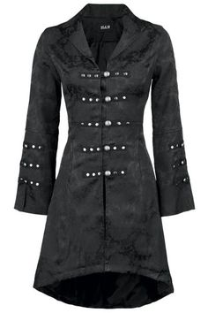 Embroidery Coat by H&R London