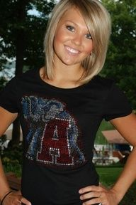 Love this cute short hair... Rolltide!