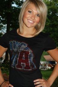 Love this cute short hair... Rolltide!