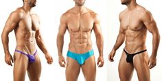 The Joe Snyder Bulge Collection is one of the brand's top sellers; you can see why from a glance. It's all about the package, and the pouch shows you off.