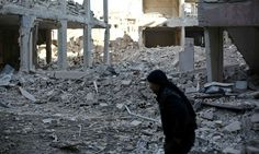 UN chemical weapons watchdog finds traces of sarin gas exposure in Syria | World news | The Guardian