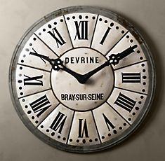 huge clock - would be fun