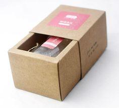 7.8 * 6 * 6.2 cm papel Kraft caja del cajón budín de embotellado mermelada mermelada de especias, hechos a mano regalo de embalaje de jabón Box100pcs / lot