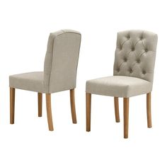 Lourdes Buttonback Side Chair (L052) with Free Delivery | The Cotswold Company