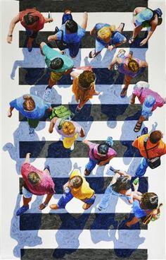 Crosswalkers by Jim Zwadlo