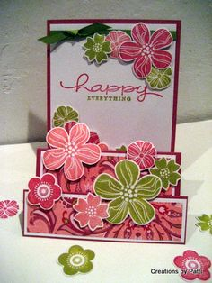 Eastern Blooms Steps Up! by Patti Lee - Cards and Paper Crafts at Splitcoaststampers