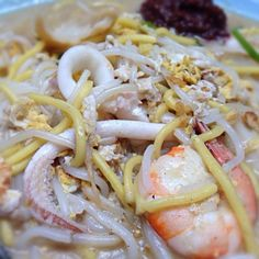 レシピとお料理がひらめくSnapDish - 2件のもぐもぐ - Hokkien Mee (known as Sotong Mee @ NIE Canteen) by Pete Choi