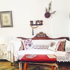 Greek interiors on point #sogreek #Greece #skopelos #interiors