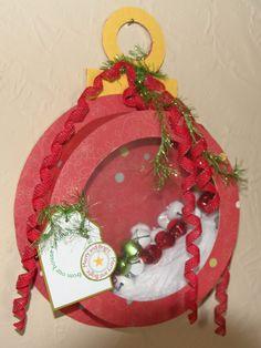Christmas Ornament Shadow Box