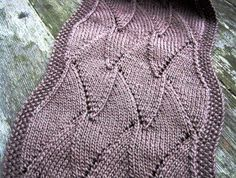 Free Knitting Pattern - Scarves: Ava Elongated Scarf