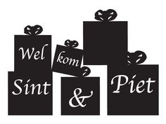 :))  Welkom Sint & Piet cadeaus...