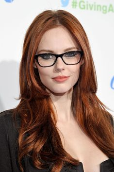 All our Alyssa Campanella Pictures, Full Sized in an Infinite Scroll. Alyssa Campanella has an average Hotness Rating of between (based on their top 20 pictures) Alyssa Campanella, Reddish Brown Hair Color, Brown Hair Colors, Gorgeous Redhead, Hottest Redheads, Redhead Girl, Girls With Glasses, Red Hair And Glasses, Auburn Hair