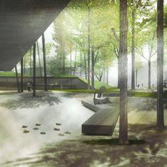 |PARKING IN MOENA| (architect)tapia + figueiras arquitectos