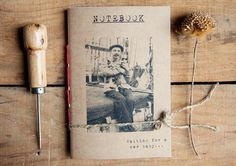 Sailor & Cats Notebook Eco friendly by ManuchePostcardsFrom