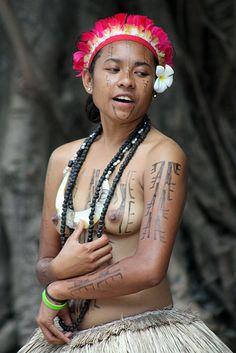 Dancers - Oro Province - Papua New Guinea
