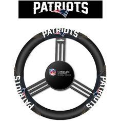 Detroit Lions Black Steering Wheel Cover