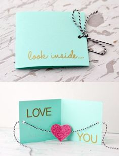 Love you kaart