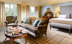 Junior Suites at the Killarney Park Hotel Park Hotel, Photography Gallery, 5 Star Hotels, Layout, Couch, Traditional, Luxury Suites, Places, Furniture