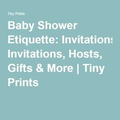 baby shower etiquette on pinterest planning a baby shower baby