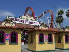 Knott's Berry Farm in Buena Park, California
