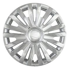 Chrome 15 Hub Cap Wheel Covers for Volkswagen Golf Set of 4 -- More info could be found at the image url.