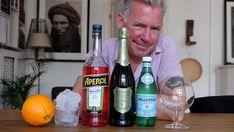 Slik lager du en perfekt Aperol Spritz Beverages, Drinks, Wine, Bottle, Drinking, Flask, Drink, Jars, Beverage