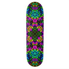 China-Town Mandala Skateboard #mandala #cool #skateboard