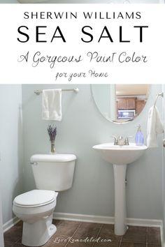 Small Bathroom Paint, Small Bathroom Colors, Paint Colors For Bathrooms, Neutral Bathroom Paint, Small Bedroom Paint Colors, Master Bathroom, Light Bathroom, Best Color For Bathroom, Painting A Bathroom