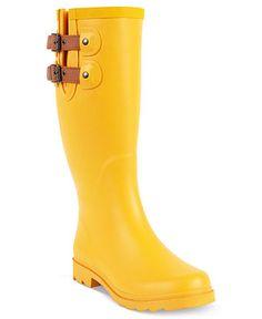 Chooka Women's Shoes, Top Solid Rain Boots - Shoes - Macy's