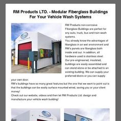 Read my latest newsletter! Buses And Trains, Building Code, Modular Design, Mold And Mildew, Car Wash, Facade, Transportation, Custom Design, Buildings