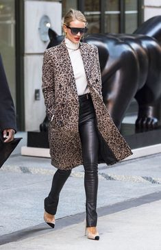 The Coolest Way to Wear Your Leather Leggings