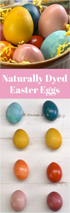 We'll show you how to dye an egg-squisite basketful of festive Easter eggs using colors from nature. Kids will love discovering the rainbow of vivid shades they can create from vegetables and spices you already have in your pantry: red cabbage, yellow onion skins, beets, and turmeric powder.