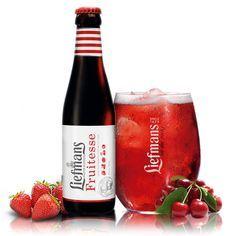 Liefmans Fruitesse - Belgian Cherry Beer - 4.2% - Brasserie Liefmans - BienManger.com