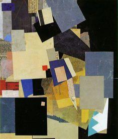 Kurt Schwitters - Elikan, 1925