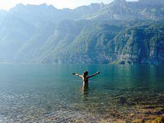 """""""Der Walensee und die Churfirsten"""" by Travel Sisi. Aus """"Wunderbare #Schweiz - Reiseblogger verraten ihre Lieblingsplätze"""" #SwissAmbassadors #Blog #German"""