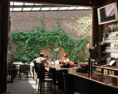 Revel bar restaurant, NYC