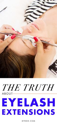 Amen! 6 myths about eyelash extensions to stop believing now.