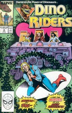 Marvel Comics Dino-Riders #2
