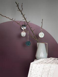DIY Ornament, décorations de Noël en céramique - Ferm Living