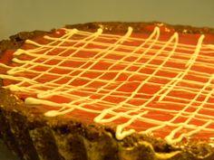 Tarta trufa frambuesa