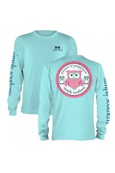 Simply Southern Owl Tee New Long Sleeve Tees are in! $24.95