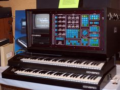 CON BRIO ADS 200R workstation, 16 track sequencer with 80000 notes despite the several features it didnt sell due to the price tag +/- 25000 USD, released in 1982 #synthesizer #sequencer #1982 #producersgear #studiogear #geartalk #conbrio #classic #fmsynthesis #fmsynth #holygrail #classic