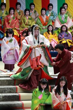 Вопрос 6. Средневековая Япония, эпоха Хэйан. Junihitoe heian kimono