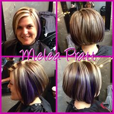 Cut/color by Melea!
