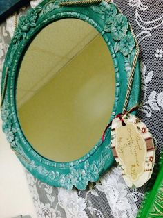 Round Ornate Provence - $34. Eclectic Mirrors, Gift Store, Provence, Daisy, Interior Design, Gifts, Nest Design, Presents, Home Interior Design