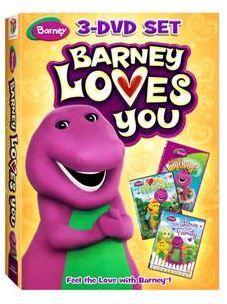 BARNEY LOVES YOU 3-DVD Set Giveaway