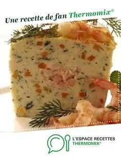 Ma terrine de la mer par nounou2510. Une recette de fan à retrouver dans la catégorie Entrées sur www.espace-recettes.fr, de Thermomix®.