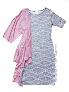 A super soft and versatile LuLaRoe Julia sheath dress is a perfect comfy yet put-together dress! Layer with a LuLaRoe Lindsay in a dusty rose to complete your LuLaRoe outfit! Click the pic to learn more!