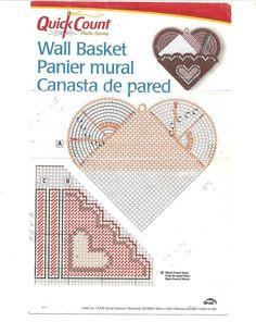 Heart Wall Basket